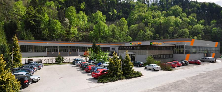 Die neue Produktionshalle der Koller GmbH